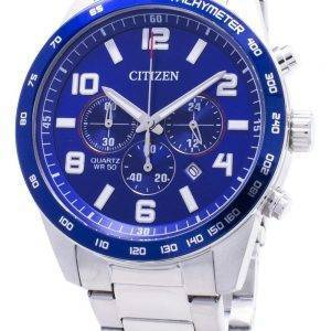 Citizen Chronograph AN8161-50L Tachymeter Quartz Miesten kello
