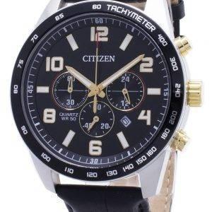 Citizen Chronograph AN8166-05E Tachymeter Quartz Miesten kello
