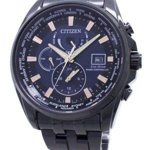 Citizen Eco-Drive Global Radio -ohjattu AT9039-51L Japan Made 200M Miesten kello