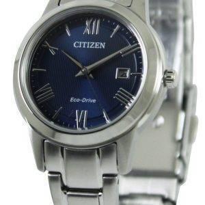 Citizen Eco-Drive sininen soittaa FE1081 - 59L naisten kello