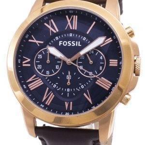 Fossiilisten myöntää Chronograph Rose kulta-Tone FS5068 Miesten kello