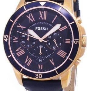 Fossiilisten Grant Sport Chronograph Quartz FS5237 Miesten Kello