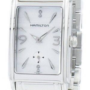 Hamilton Ardmore yhdysvaltalainen klassinen timanttien aksentti Quartz H11411115 naisten kello