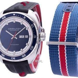 Hamilton yhdysvaltalainen klassinen Pan Europ automaattinen H35405741 Miesten kello