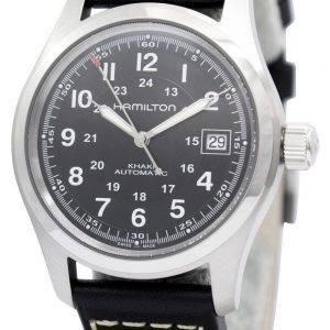 Hamilton Khaki kentän automaattinen H70455733 Miesten kello