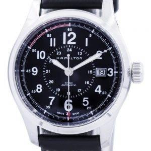 Hamilton Khaki kentän automaattinen H70595733 Miesten kello