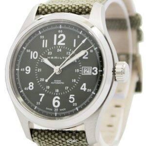 Hamilton Khaki kentän automaattinen H70595963 Miesten kello