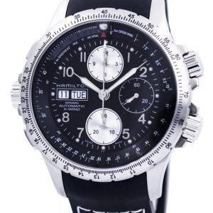 Hamilton Khaki X-tuuli Automaattinen Chronograph H77616333 Miesten kello
