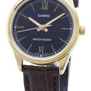Casio Quartz LTP-V005GL-1B2 LTPV005GL-1B2 Analoginen naisten kello