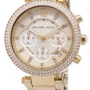 Michael Kors Parker Glitz Chronograph kiteitä MK5354 naisten kello