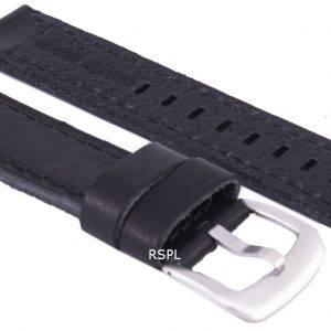 Musta suhde tuotemerkin nahkahihna 20mm