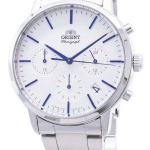 Orient Contemporary Chronograph RA-KV0302S00C Quartz Japan Made Miesten kello