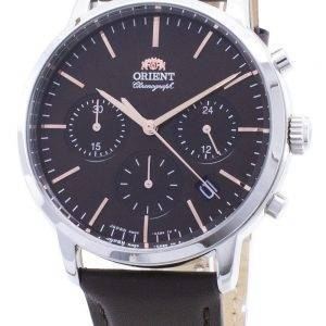 Orient Contemporary Chronograph RA-KV0304Y00C Quartz Japan Made Miesten kello