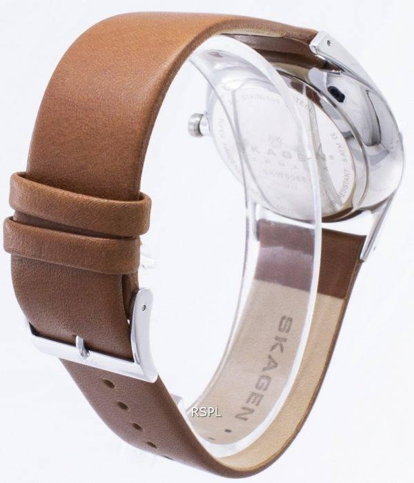 Skagen Holst monitoimilaitteet ruostumattomasta teräksestä Quartz SKW6086 Miesten kello