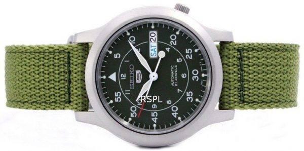 Seiko 5 sotilaallisen automaattinen Nylon Miesten kello SNK805K2 SNK805