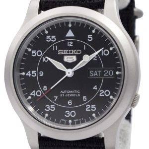 Seiko 5 sotilaallisen automaattinen Nylon miesten kello SNK809K2 SNK809