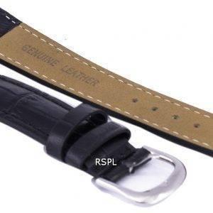Musta suhde tuotemerkin nahkahihna 18mm