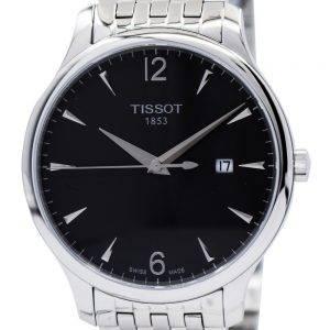 Tissot T-klassinen perinne T063.610.11.067.00 T0636101106700 Miesten kello