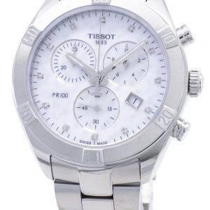 Tissot T-Classic PR 100 Sport Chic T101.917.11.116.00 T1019171111600 Chronograph Naisten kello