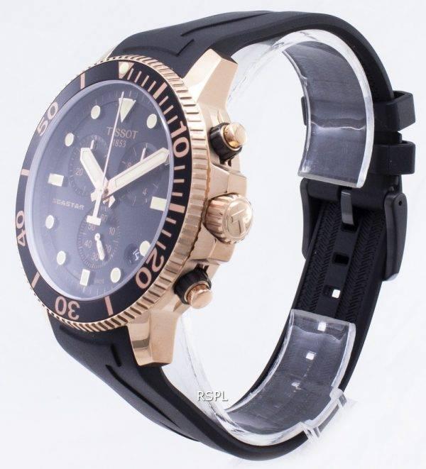 Tissot T-Sport Seastar 1000 T120.417.37.051.00 T1204173705100 Chronograph 300M Miesten kello