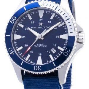 Hamilton Khaki Navy Scuba H82345941 Automaattinen analoginen miesten kello