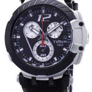 Tissot T-Race Jorge Lorenzo T115.417.27.057.00 T1154172705700 Rajoitettu erä Chronograph miesten kello