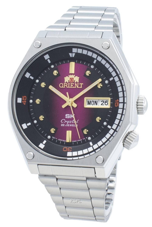 Orient RA-AA0B02R19B automaattinen 22 jalokivi miesten kello
