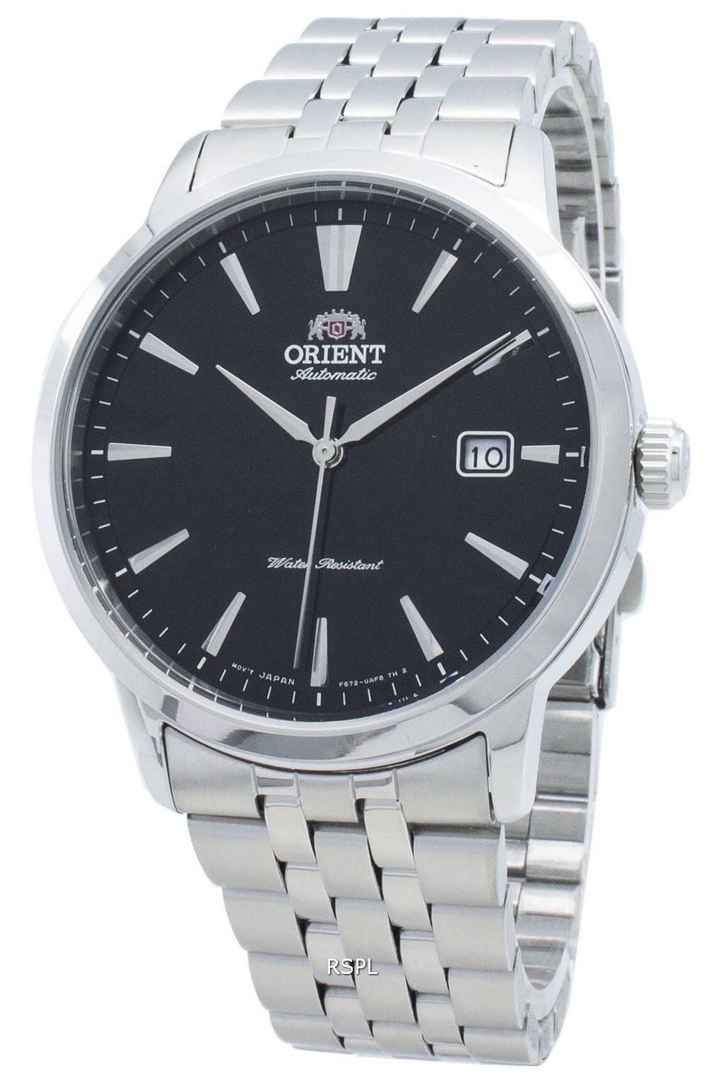 Orient RA-AC0F01B10B automaattinen 22 jalokivi miesten kello