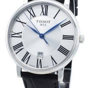 Tissot Carson Premium T122.410.16.033.00 T1224101603300 19 jalokivi kvartsi miesten kello