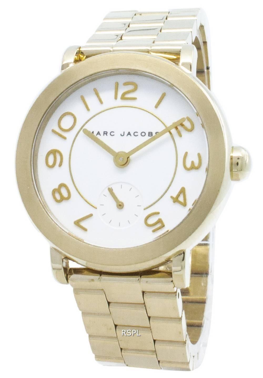 Kunnostettu Marc Jacobs Riley MJ3470 kvartsi-analoginen naisten kello