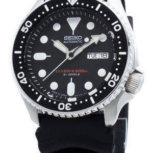 Kunnostettu Seiko automaattinen SKX007J SKX007J1 SKX007 Japanissa valmistettu sukeltajan 200M miesten kello
