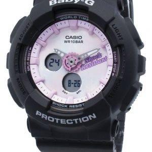 Casio Baby-G Analoginen Digitaalinen BA-120T-1A BA120T-1A Maailman Aika Kvartsi naisten kello