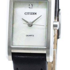 Citizen Quartz EJ6121-01D timanttikoristeet naistenkello