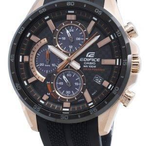 Casio Edifice EQS-900PB-1AV EQS900PB-1Av Chronograph aurinko miesten kello