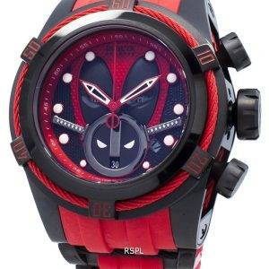 Invicta Marvel Deadpool 27152 Chronograph Automatic 200M miesten kello
