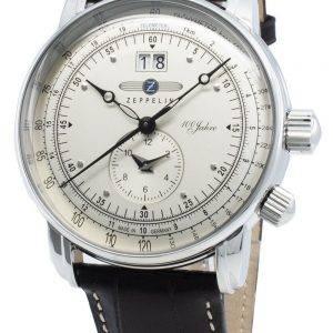 Zeppelin 100 Jahre 7640-1 76401 Quartz Tachymeter miesten kello