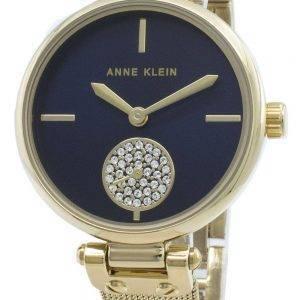 Anne Klein 3000NVGB timanttikoristeet kvartsi naistenkello