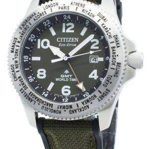 Citizen Promaster BJ7100-23X maailmanaikainen Eco-Drive 200M miesten kello