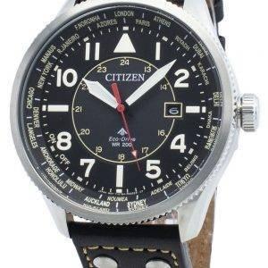Citizen Promaster Nighthawk BX1010-02E maailmanaikainen Eco-Drive 200M miesten kello