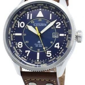 Citizen Promaster Nighthawk BX1010-11L maailmanaikainen Eco-Drive 200M miesten kello