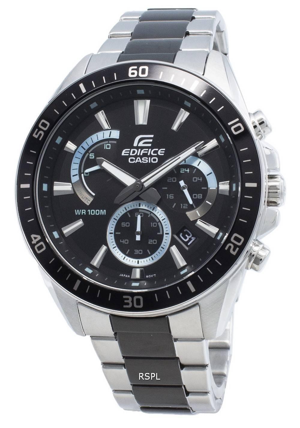 Casio Edifice EFR-552SBK-1AV EFR552SBK-1AV Chronograph miesten kello
