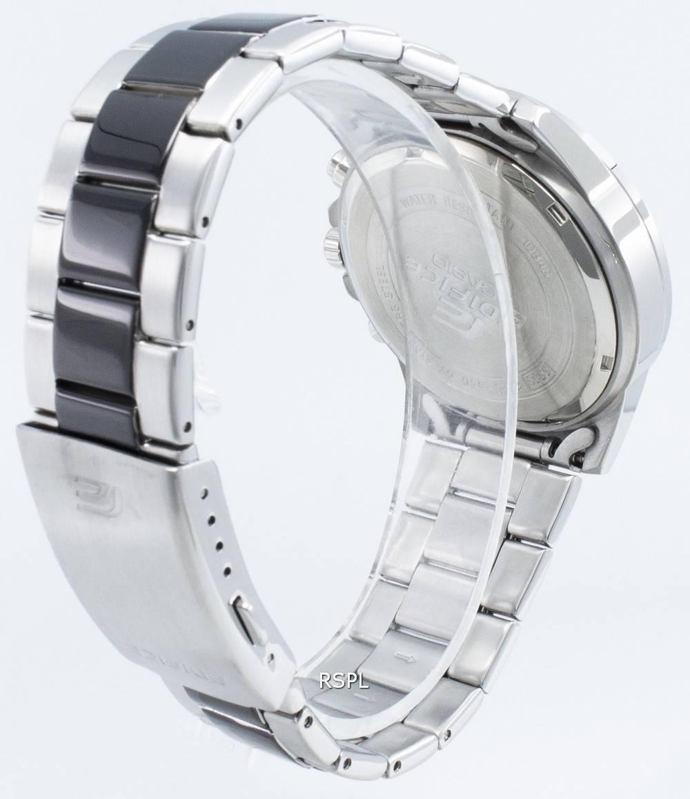 Casio Edifice EFV-540SBK-1AV EFV540SBK-1AV Chronograph Quartz miesten kello