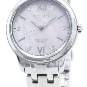 Citizen Eco-Drive EM0720-85Y timanttikoristeet naistenkello