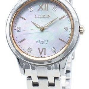 Citizen Eco-Drive EM0726-89Y timanttikoristeet naistenkello