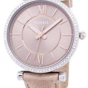 Fossiilisten Carlie Three-Hand hiekka kvartsi Diamond aksentti ES4343 naisten Watch