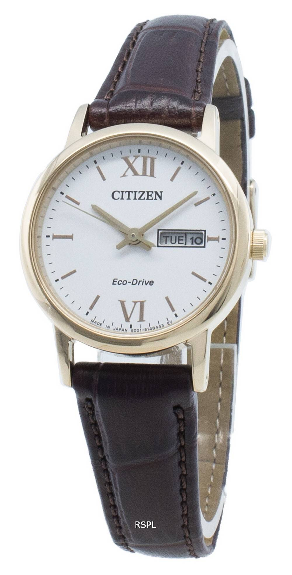 Citizen Eco-Drive EW3252-07A Japanissa valmistettu naisten kello