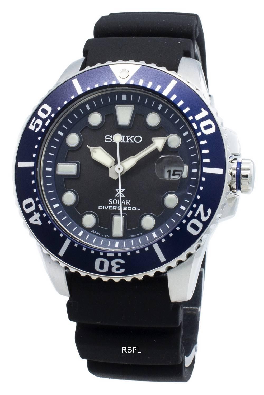 Seiko Prospex Solar 200M Diver Japani teki SBDJ019 Miesten Watch