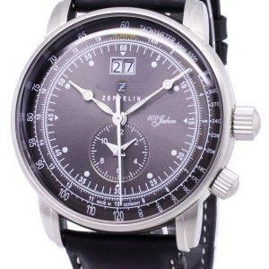 Zeppelin sarja 100 vuotta ED.1 Saksa teki 7640-2 76402 Miesten Watch
