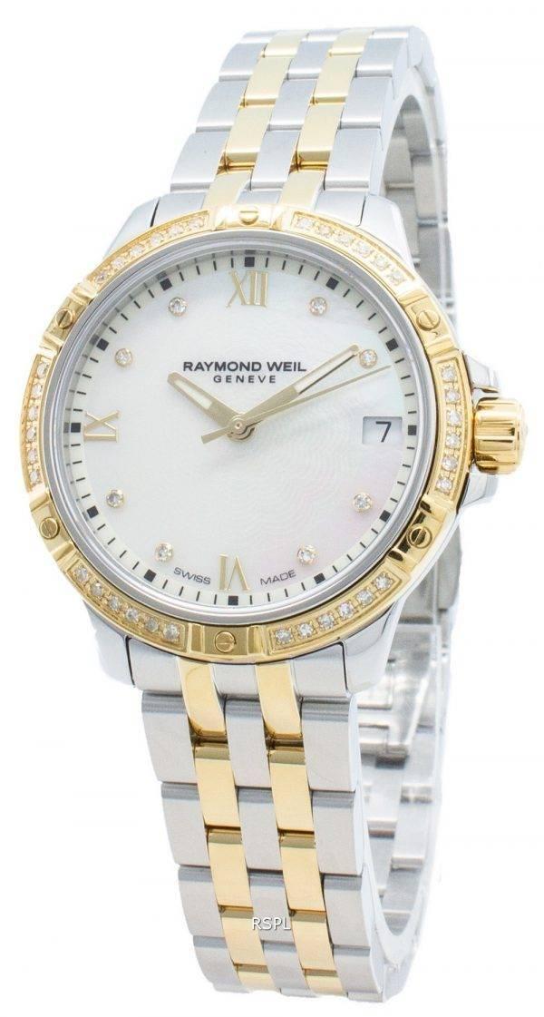 Raymond Weil Geneve Tango 5960-SPS-00995 timanttikoristeet kvartsi naistenkello