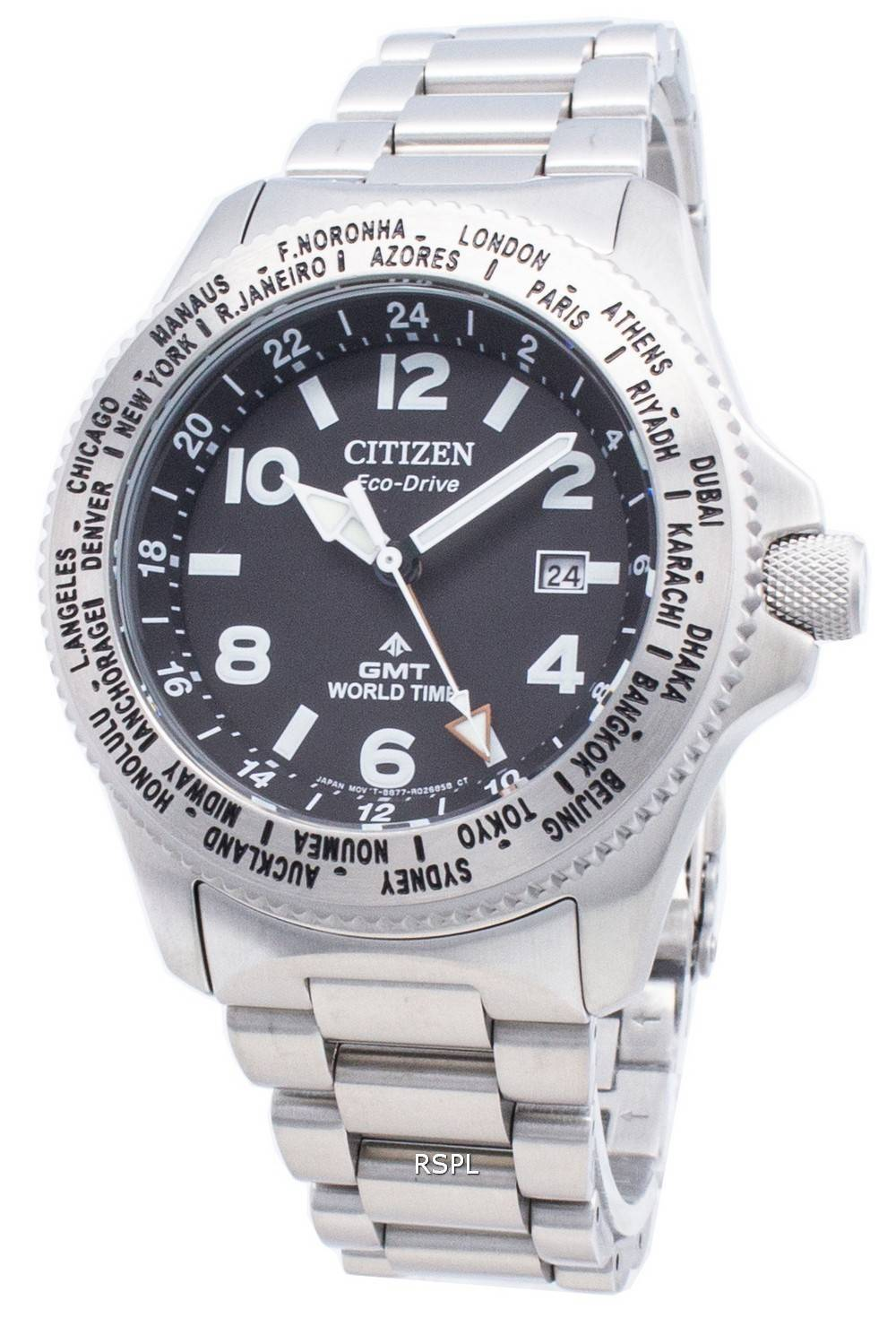 Citizen PROMASTER Eco-Drive BJ7100-82E maailmanaikainen 200M miesten kello